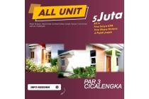 Rumah baru di Cicalengka Yang Nyaman dan Asri Bandung