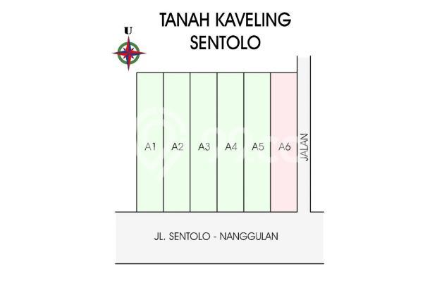 Kapling Mura Dekat Pasar Sentolo Kulon Progo , 12 X TANPA BUNGA 17307540