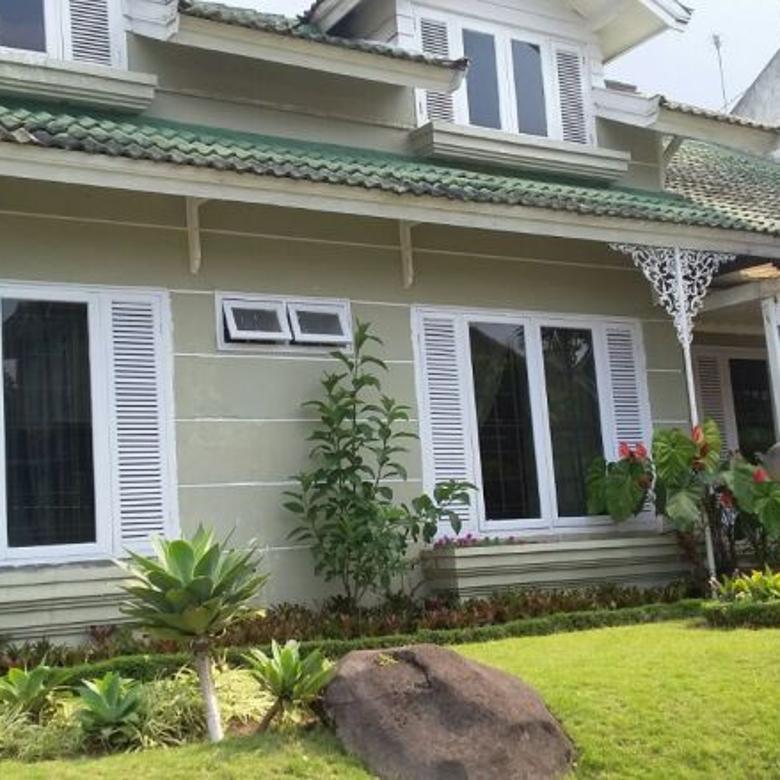 Sewa villa green cipanas 5 kamar tidur