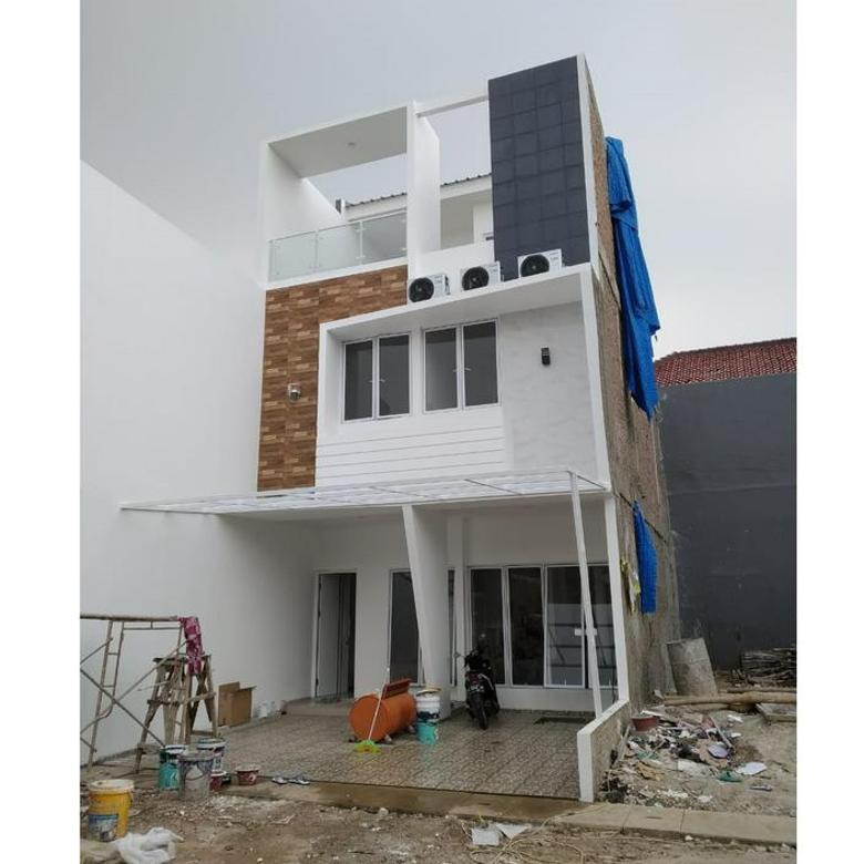 Rumah Mewah 3 Lantai Lokasi Strategis Jakarta Timur Cipinang Kebembem