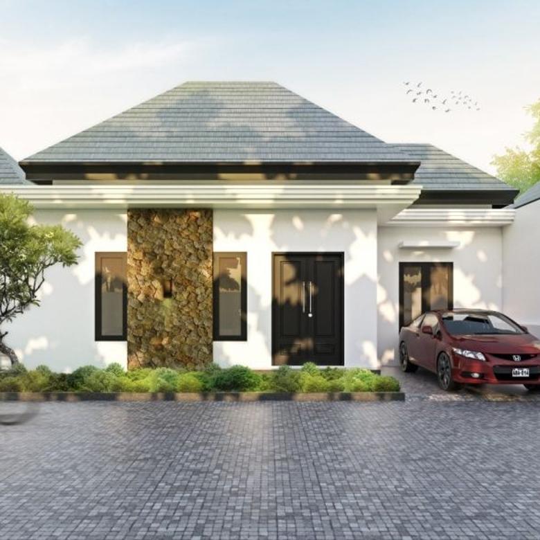 Rumah minimalis dalam  kota Denpasar