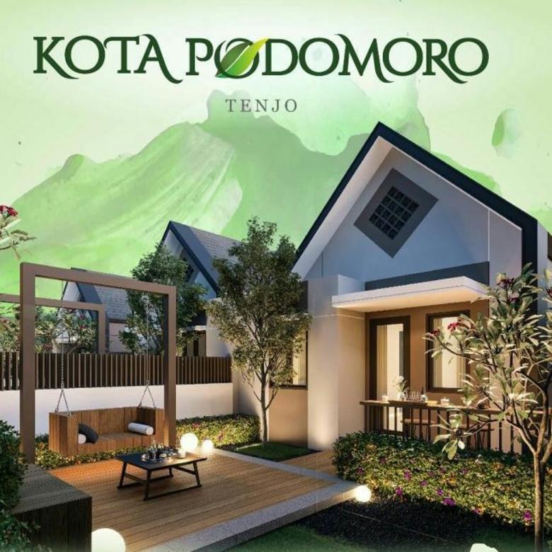 Jual Rumah Podomoro Tenjo City Bogor , Dekat Dengan Sekolah