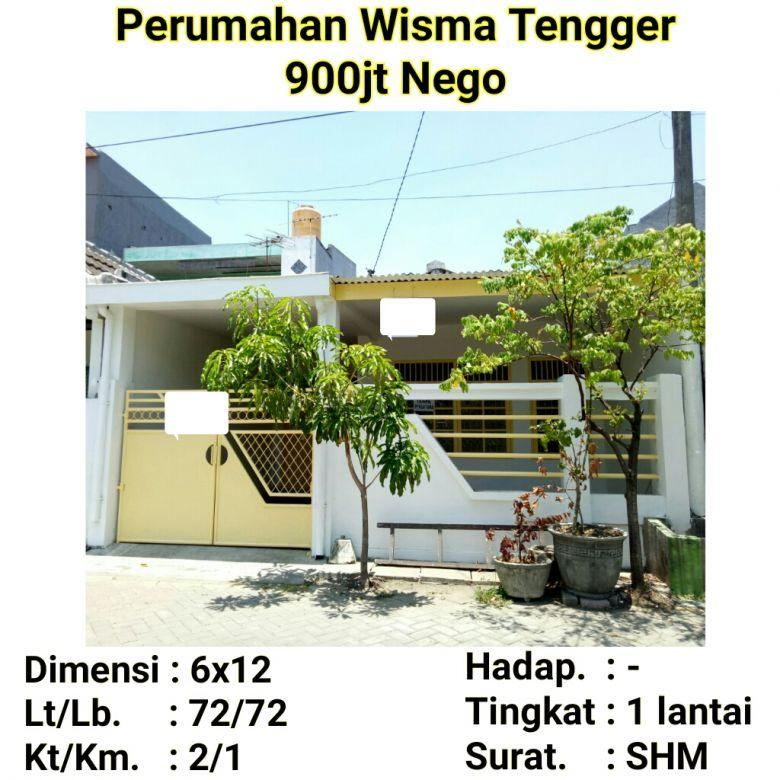 Rumah murah wisma tengger benowo pakal surabaya siap huni minimalis nego