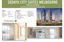 Dijual dan di sewakan Apartement Sedayu City Suites Melbourne