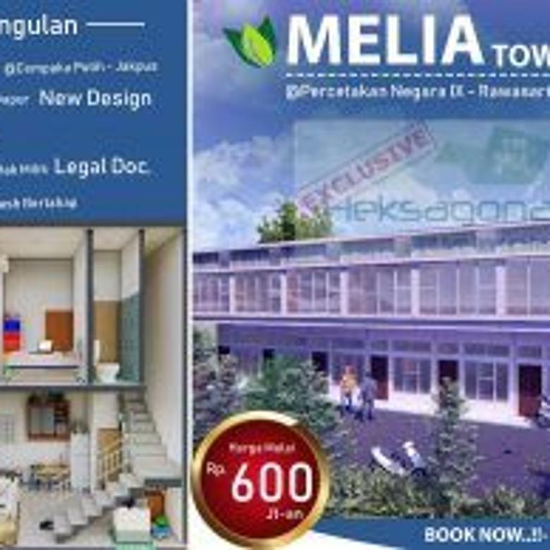 Perumahan Melia Townhouse di Cempaka Putih Jakarta Pusat hks10