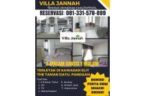 Disewakan Villa Jannah di The Taman Dayu Pandaan GRATIS PESTA BBQ!
