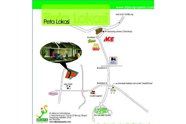 Sisa 1 unit! Rumah Hoek Dp Ringan Cluster Asri Citra, Citra Raya Tangerang 1750558