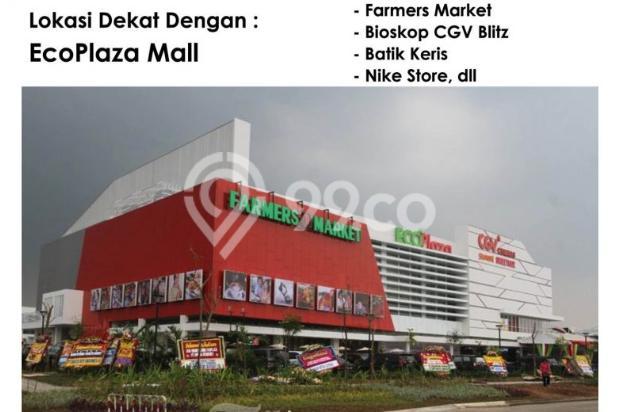 Sisa 1 unit! Rumah Hoek Dp Ringan Cluster Asri Citra, Citra Raya Tangerang 9156890