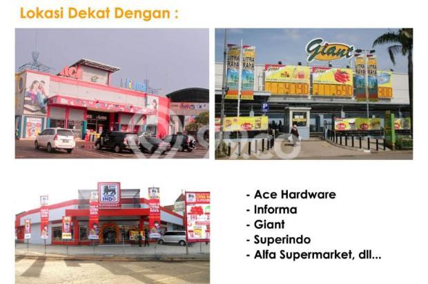Sisa 1 unit! Rumah Hoek Dp Ringan Cluster Asri Citra, Citra Raya Tangerang 9157004