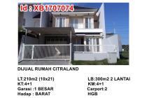 Dijual Rumah Citraland Dekat Pakuwon, Graha Family