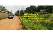 Tanah Murah Selangkah ke Gerbang Tol DESARI, 10 menit ke Jagakarsa