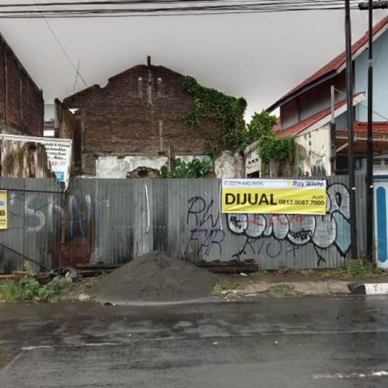 (VV) Tanah Di Tengah Kota Jalan Soetomo Gondokusuman Yogyakart