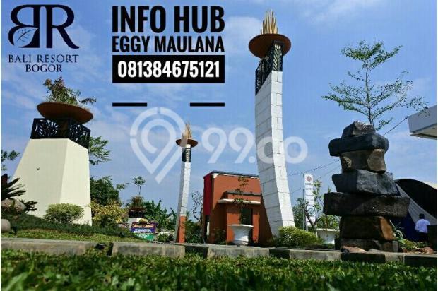 Perumahan murah bal resort bogor dekat tol dan stasiun bogor cilebut 17825484