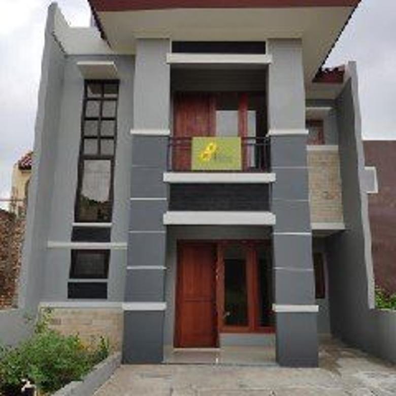 Rumah Murah Baru 2 Lantai dekat Pemda di Telaga Cibinong
