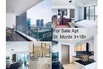 For Sale Apt St. Moritz 3+1Br Rp.3,9 Milyar Newly Renovated
