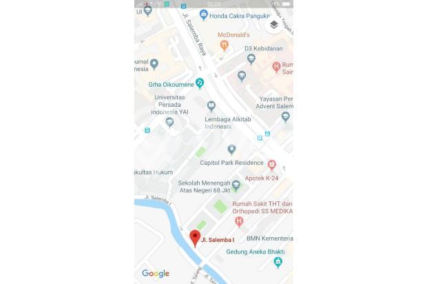 Rumah Tua Hitung Tanah Aja jl Salemba I Jakarta Pusat (hd263) 18274880