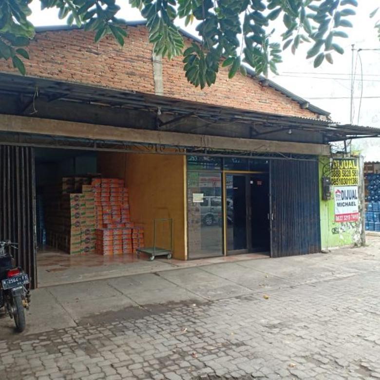 Dijual cepat eks gudang di Malang kota nol jalan raya