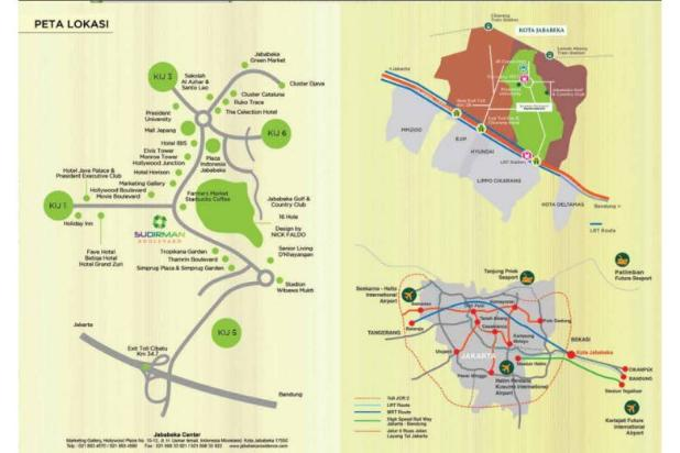 Ruko strategis SUDIRMAN BOULEVARD Jababeka Residence Cikarang 12900147