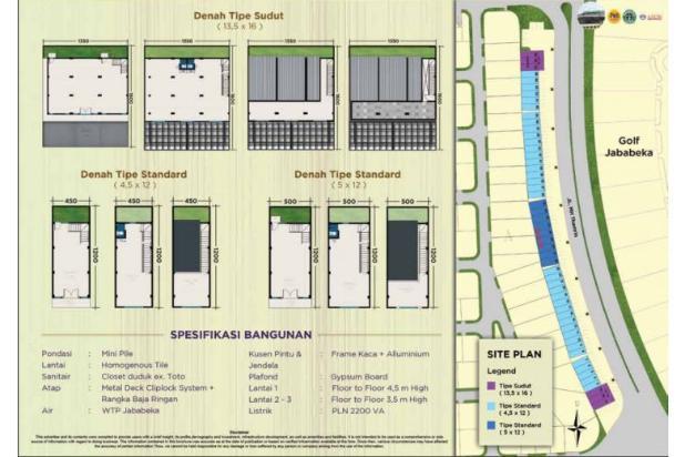 Ruko strategis SUDIRMAN BOULEVARD Jababeka Residence Cikarang 12900150