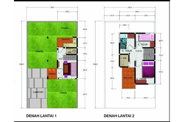 Rumah Murah di Bandung, dengan Suasana Pegunungan dan View Kota Bandung 13892639