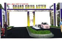 cluster Murah 2Lt Griya Aster Free Biaya adm+cashyback tinggi