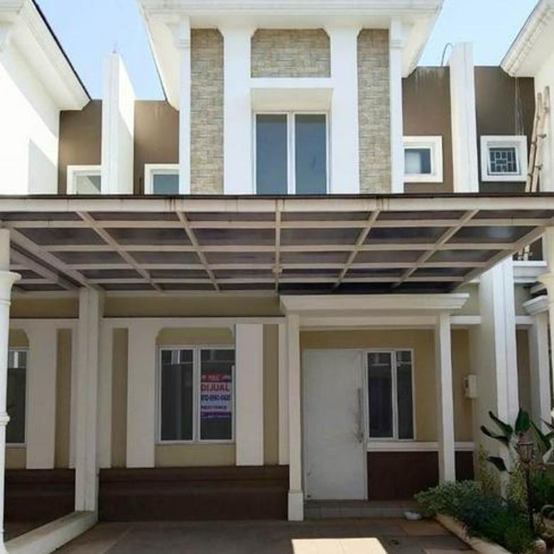 Rumah siap huni 2lt 6x15 90m Type 2KT Cluster Thames JGC Jakarta Garden City Cakung