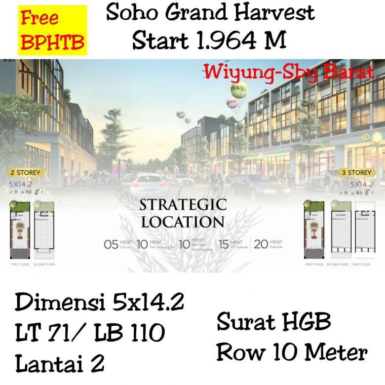 Soho Grand Harvest wiyung surabaya