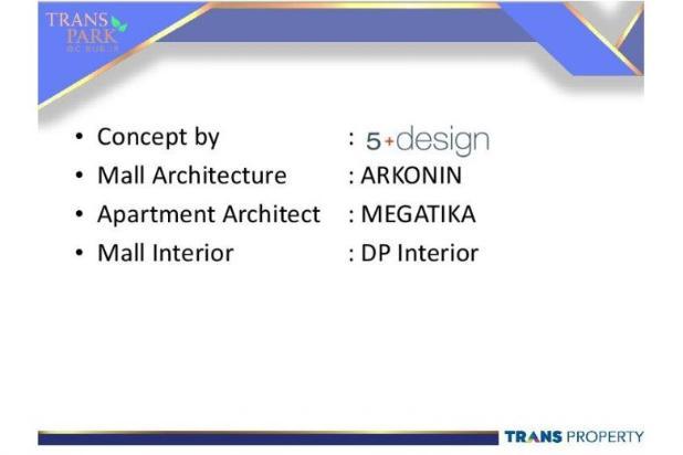 Dijual Apartemen Baru 1BR Murah Strategis di Trans Park Cibubur Depok 13024660