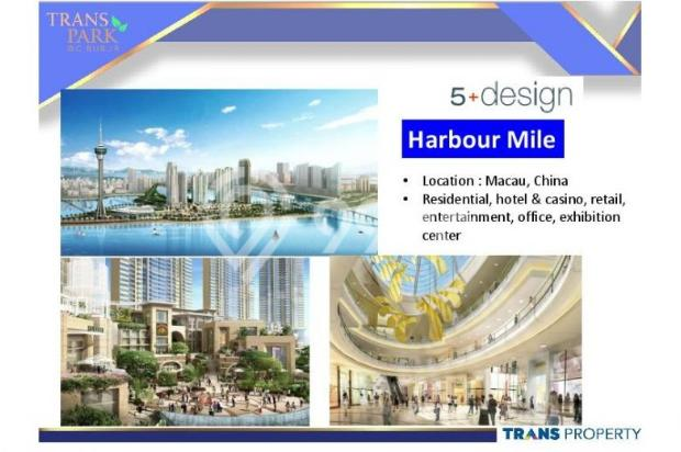 Dijual Apartemen Baru 1BR Murah Strategis di Trans Park Cibubur Depok 13024672
