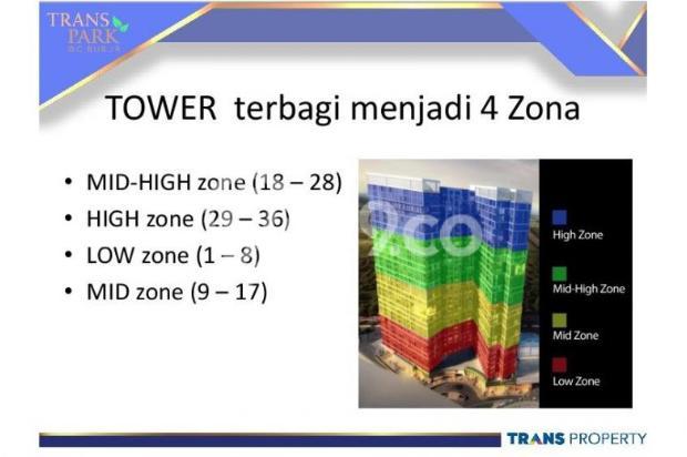 Dijual Apartemen Baru 1BR Murah Strategis di Trans Park Cibubur Depok 13024700