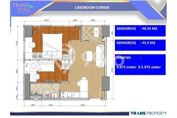Dijual Apartemen Baru 1BR Murah Strategis di Trans Park Cibubur Depok 13024704