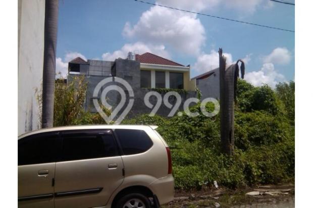 Tanah 4x25 Klampis Aji Surabaya, Dekat Manyar Kertajaya Ada IMB untuk RUKO 11160057
