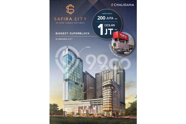 Safira City Apartemen di Sidoarjo Kota + Transmart & Mall hanya NUP 2 jt 14994493