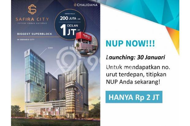 Safira City Apartemen di Sidoarjo Kota + Transmart & Mall hanya NUP 2 jt 14994497