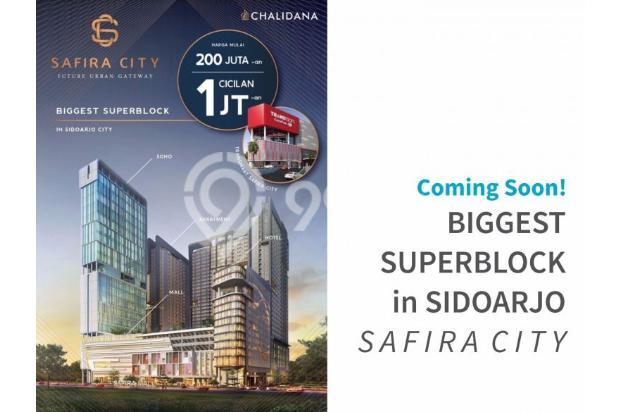 Safira City Apartemen di Sidoarjo Kota + Transmart & Mall hanya NUP 2 jt 14994495