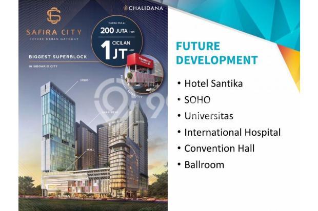 Safira City Apartemen di Sidoarjo Kota + Transmart & Mall hanya NUP 2 jt 14994496