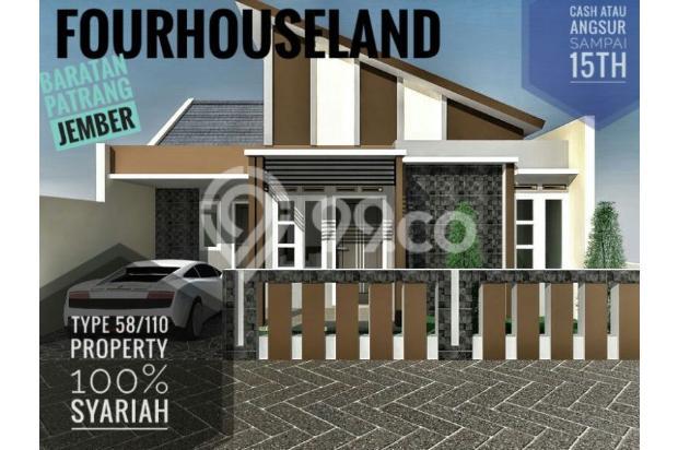 Dijual Rumah Dekat Pemandian Rembangan Jember 13961292