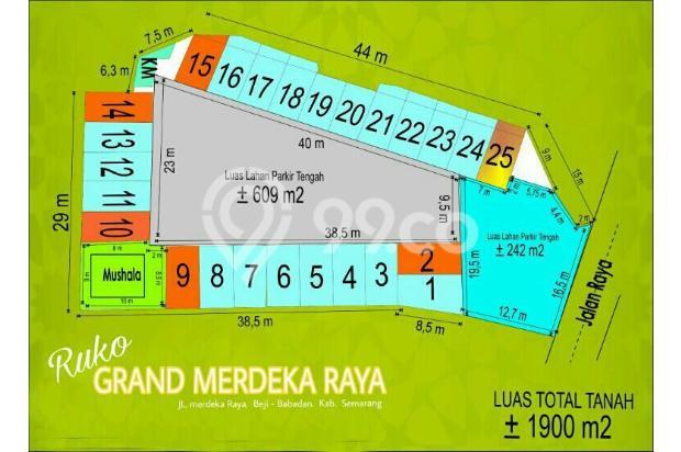 DIJUAL & DISEWAKAN Unit Ruko 2 lantaiRuko GRAND MERDEKA RAYAUngaran 14417915