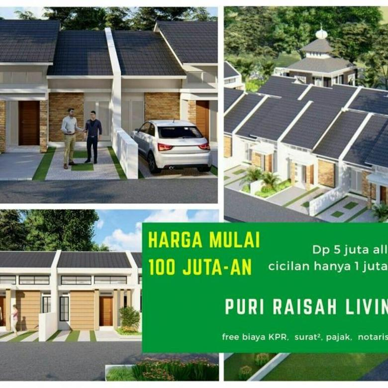 Rumah 1 Lantai KEREN Harga mulai 100 Jutaan di Citaman Bandung