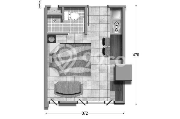 Apartemen The Jarrdin Bandung, Boking Fee saja,Cashbertahap 36x Tanpa Bunga 15020732