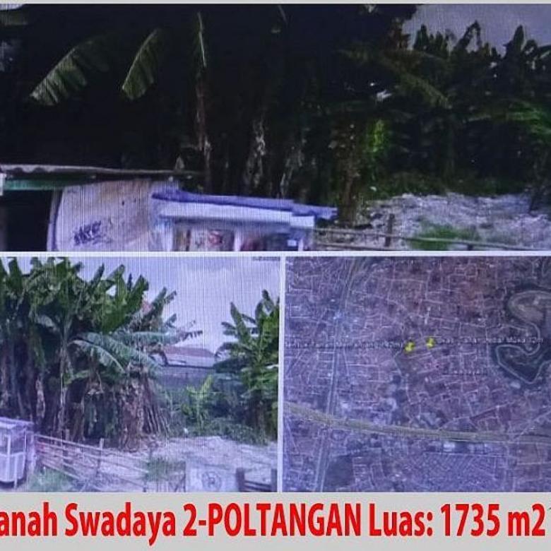 JUAL Tanah di Swadaya II,Poltangan cocok untuk usaha!