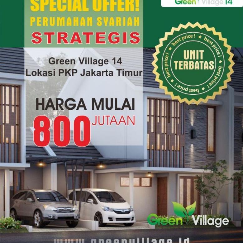 Unit Terbatas !! Perumahan Green Village 14 Jakarta Timur