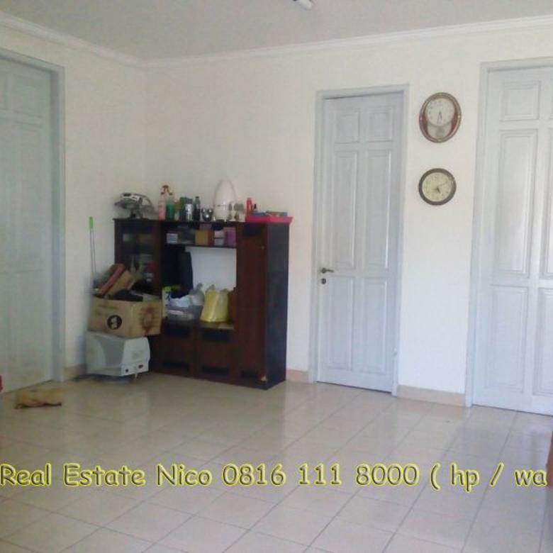 Rumah dijual di Bukit Gading Mediterania jalan utama 18x23 hoek