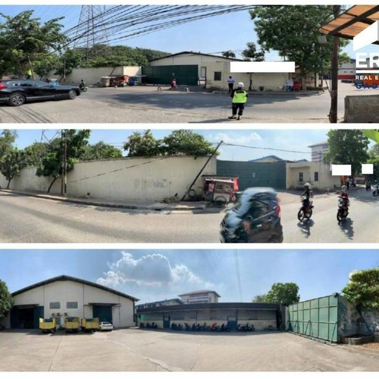 Gudang Lokasi OK Jalan 2 Mobil Pinggir Jalan di Pegangsaan Dua , Harga OK
