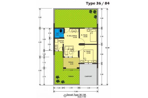 Rp336jt Rumah Dijual