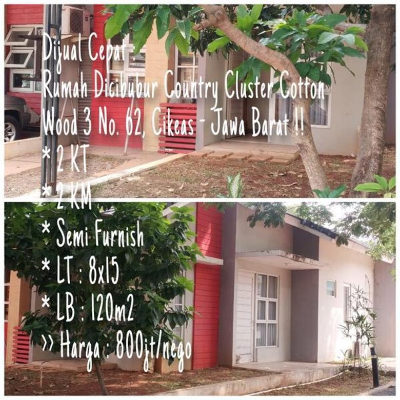 Rumah DiJual CEPAT di Cibubur Country