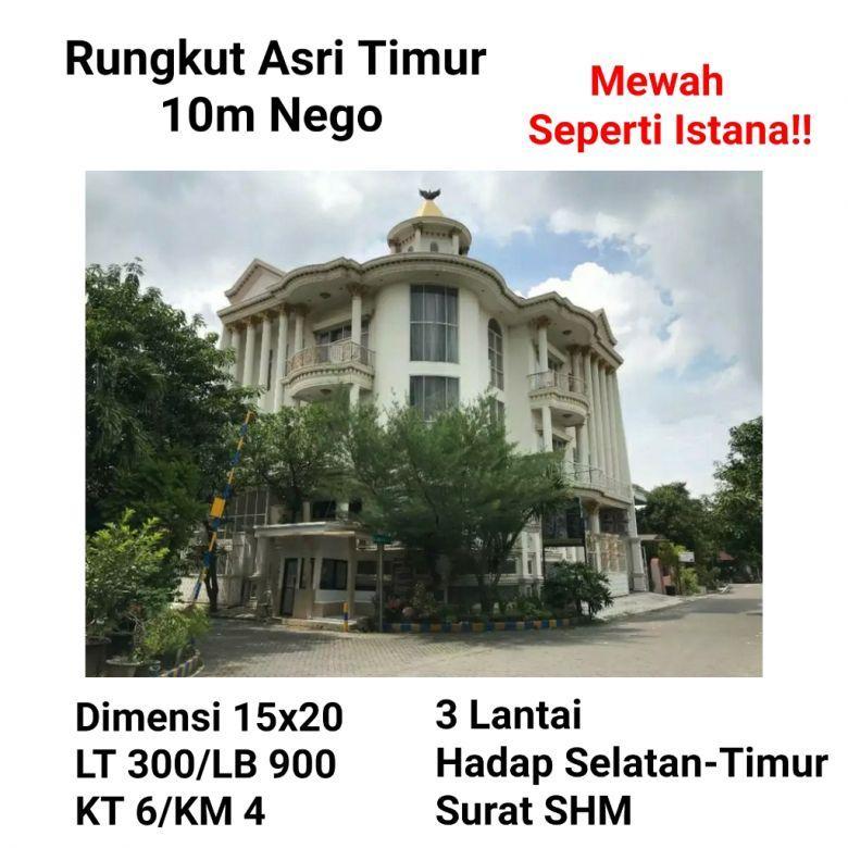 Rumah Rungkut Asri Timur Kec Rungkut Surabaya Mewah Istana