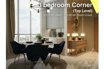 Apartemen Tangcity TOP LEVEL 3BR Corner Skandinavia dkt Mall Bandar TOL