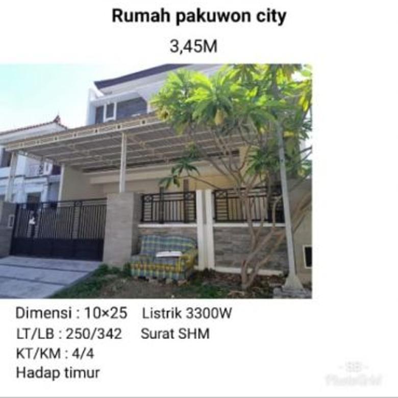 rumah pakuwon city murah modern minimalis mewah siap huni