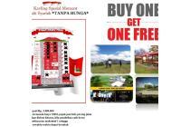 beli 1 kavling gratis 1 kavling + diskon 5 juta dan free SHM